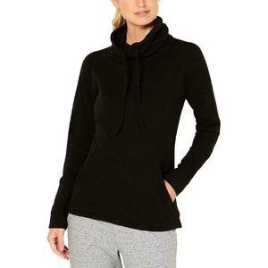 32 Degrees Womens Fleece Funnel-Neck Active SweatS